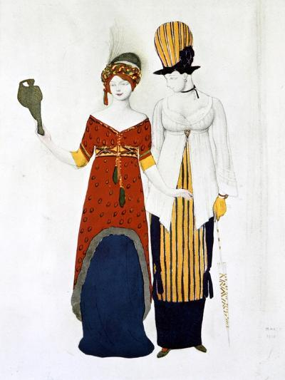 Costume Moderne, 1910-Leon Bakst-Giclee Print