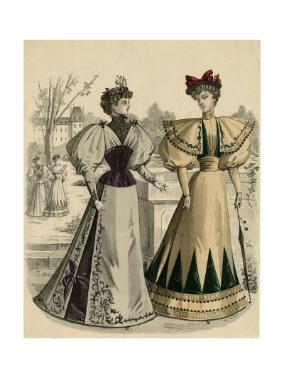 Costume of 1890S--Giclee Print