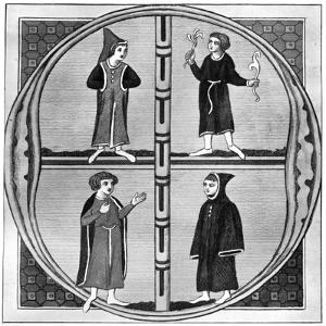Costume of the Four Seasons of the Year