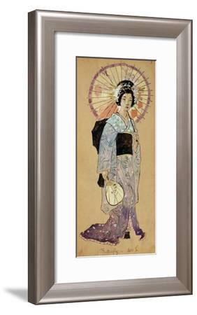 Costume Sketch for Madama Butterfly--Framed Giclee Print