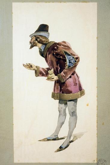 Costume Sketch-Adolfo Hohenstein-Giclee Print