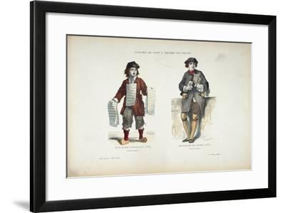 Costumes De Paris a Traversles Siecles- Cosson and Smeeton-Framed Giclee Print