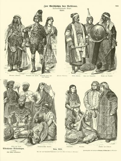 Costumes of Asia--Giclee Print