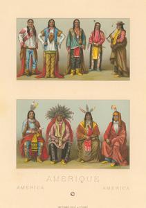 Costumes of Native America