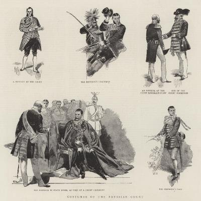 Costumes of the Prussian Court--Giclee Print
