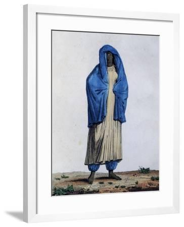Costumes of Women from Lower Nubia Region--Framed Giclee Print