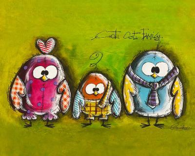 Cot Cot Family-Carine Mougin-Art Print