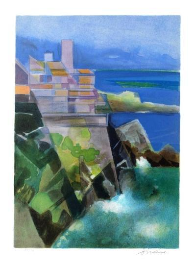 Cote d'Azur - Antibes-Camille Hilaire-Collectable Print