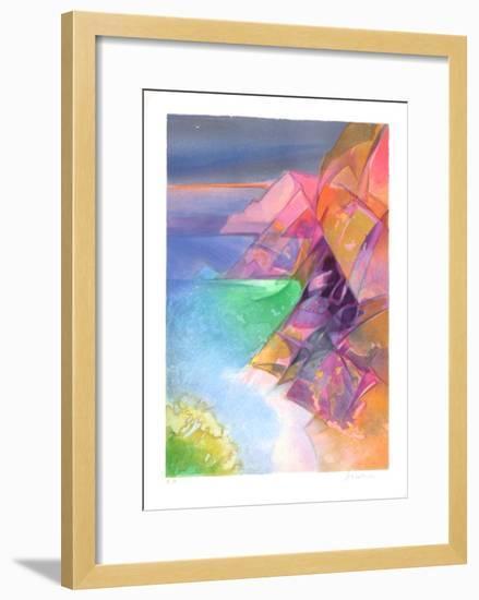 Cote d'Azur - Cap Esterel-Camille Hilaire-Framed Collectable Print