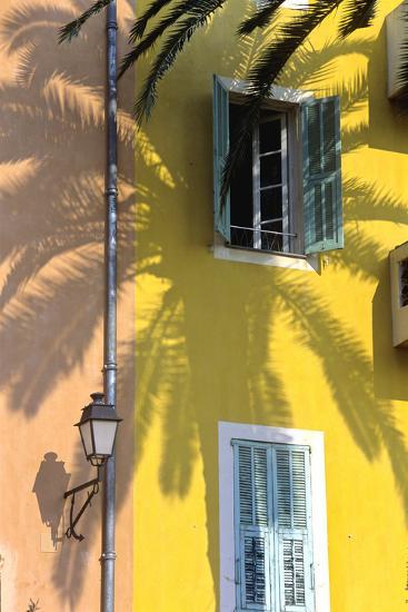 Cote D'Azur, Villefranche-Sur-Mer; Mediterranean Architecture-Marcel Malherbe-Photographic Print