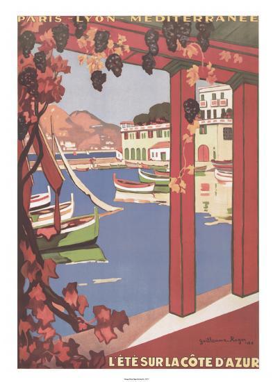 Cote d'Azur--Art Print