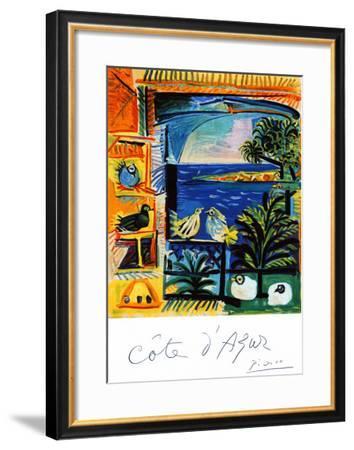 Cote d'Azur-Pablo Picasso-Framed Giclee Print