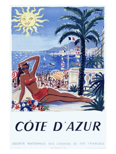 Cote d'Azur--Giclee Print