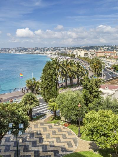 Cote Dazur Nice Promenade Des Anglais-Melanie Viola-Art Print