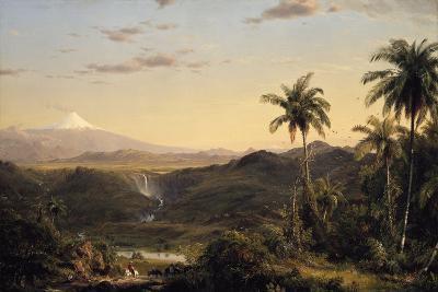 Cotopaxi-Frederic Edwin Church-Giclee Print