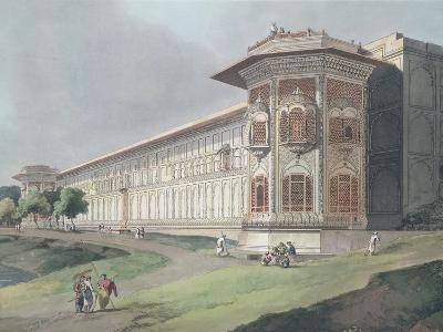 Cotsea Bhaug on the River Jumna at Delhi-Thomas & William Daniell-Giclee Print