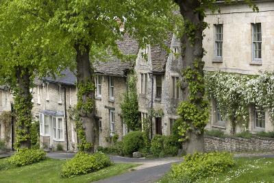Cotswold Cottages Along the Hill, Burford, Oxfordshire, England, United Kingdom, Europe-Stuart Black-Photographic Print