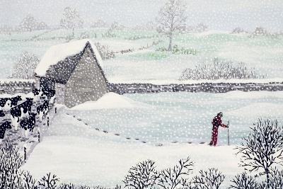 Cotswold Farm in Winter-Maggie Rowe-Giclee Print