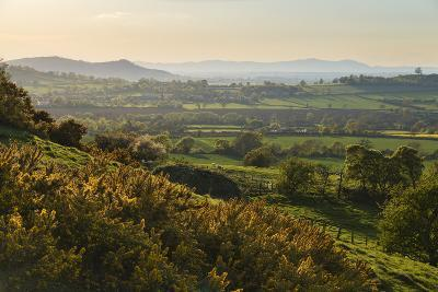Cotswold Landscape with View to Malvern Hills-Stuart Black-Photographic Print