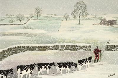 Cotswold: Winter Scene-Maggie Rowe-Giclee Print