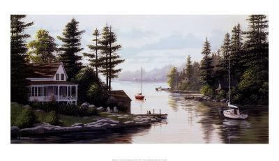 Cottage Country-Bill Saunders-Art Print