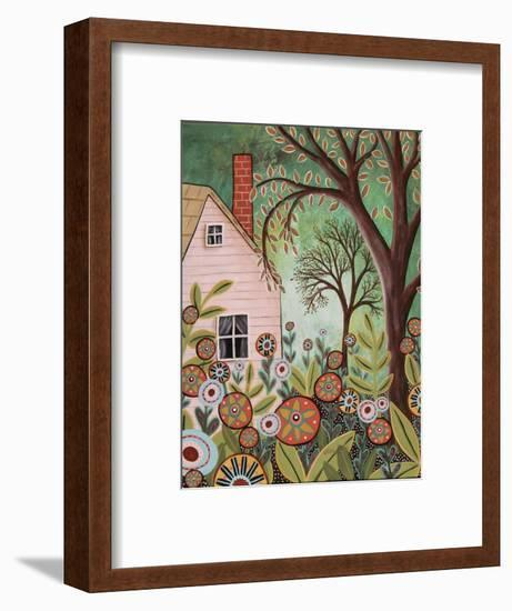 Cottage Garden 1-Karla Gerard-Framed Giclee Print