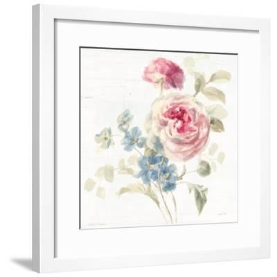 Cottage Garden II Crop-Danhui Nai-Framed Art Print