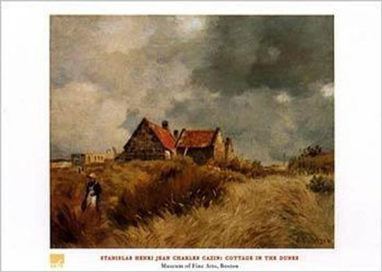 Cottage in the Dunes-Jean-Charles Cazin-Art Print