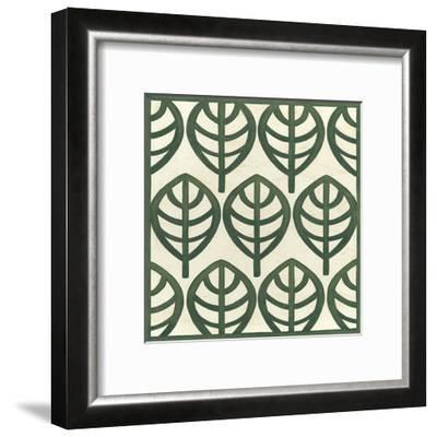 Cottage Leaves III-Erica J^ Vess-Framed Art Print