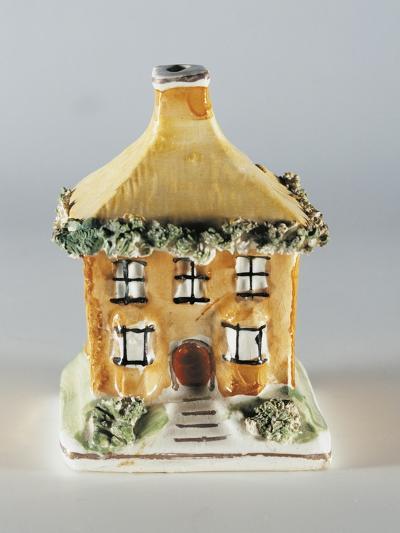 Cottage Money Box--Giclee Print