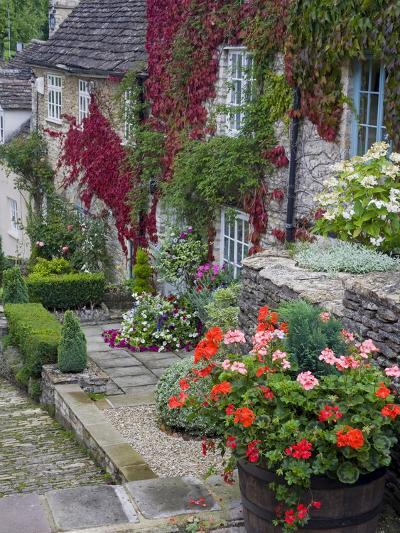 Cottage on Chipping Steps, Tetbury Town, Gloucestershire, Cotswolds, England, United Kingdom-Richard Cummins-Photographic Print