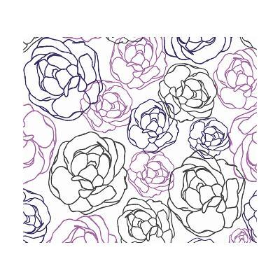 Cottage Rose Garden I-Ali Benyon-Art Print