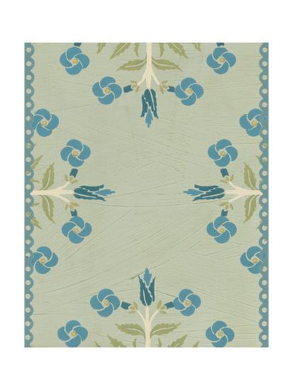 Cottage Vignette IV-Erica J^ Vess-Art Print