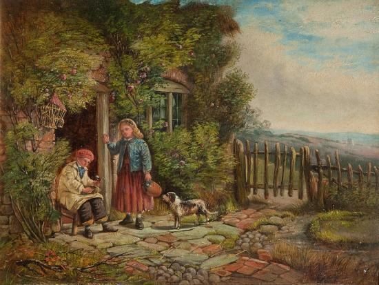 Cottagers-John H. Dell-Giclee Print