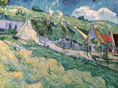 Cottages at Auvers-Sur-Oise, c.1890-Vincent van Gogh-Giclee Print