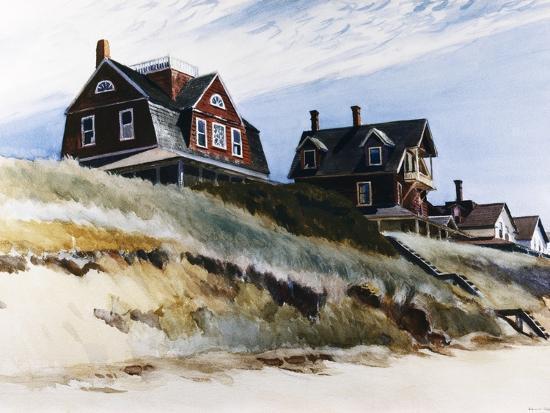 Cottages at Wellfleet-Edward Hopper-Premium Giclee Print