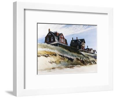Cottages at Wellfleet-Edward Hopper-Framed Premium Giclee Print