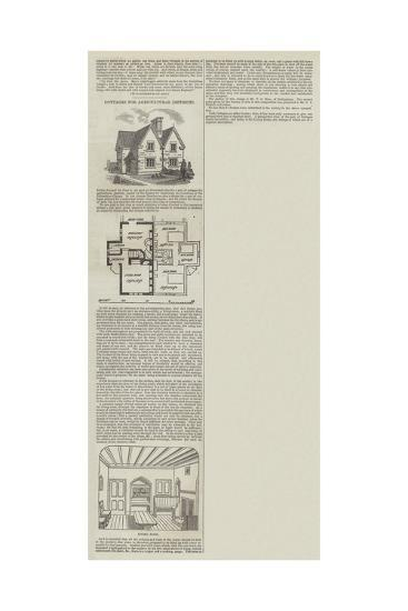 Cottages for Agricultural Districts--Giclee Print