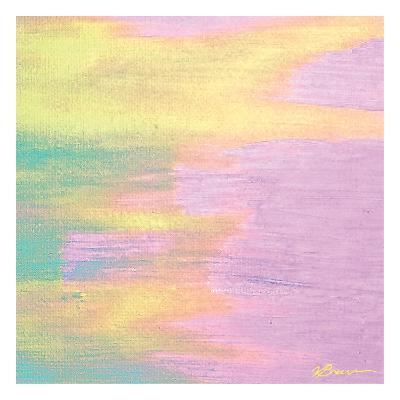 Cotton Candy 3-Victoria Brown-Art Print