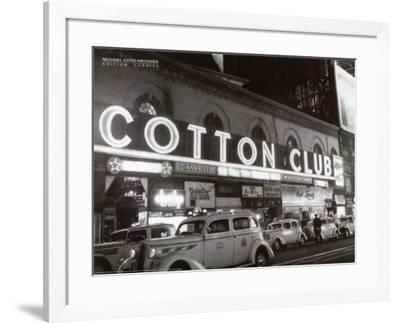 Cotton Club-Michael Ochs-Framed Art Print