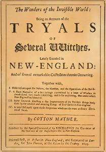 Cotton Mather, 1693