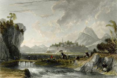 Cotton Plantations Ning Po-Thomas Allom-Art Print