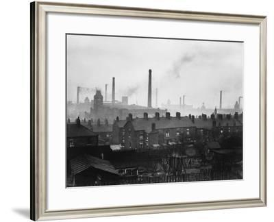 Cotton Town--Framed Photographic Print