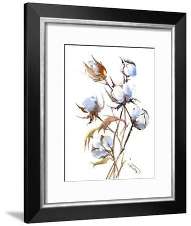 Cotton-Suren Nersisyan-Framed Art Print