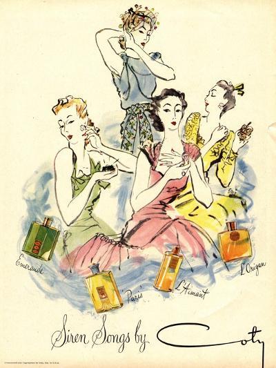 Coty, Womens, UK, 1940--Giclee Print