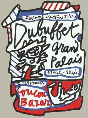 Coucou Bazar-Jean Dubuffet-Premium Edition