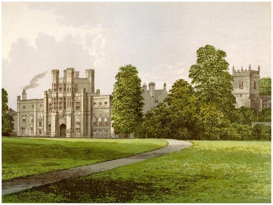 Coughton Court, Warwickshire, Home of Baronet Throckmorton, C1880-AF Lydon-Giclee Print