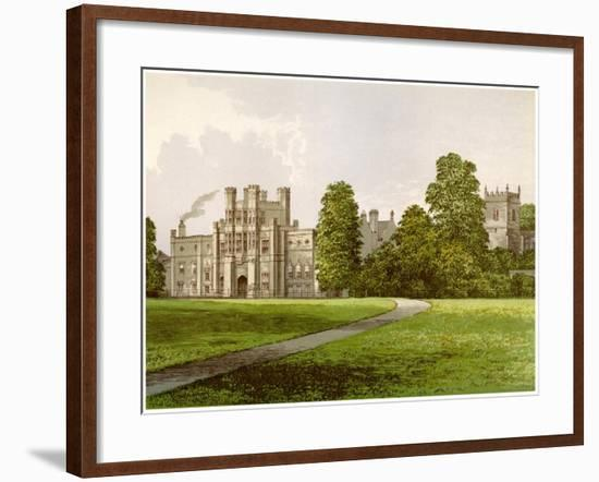 Coughton Court, Warwickshire, Home of Baronet Throckmorton, C1880-AF Lydon-Framed Giclee Print