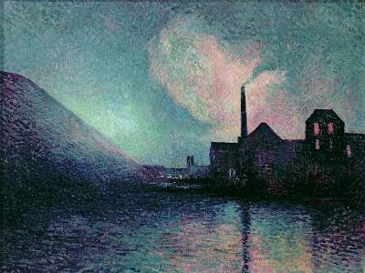 Couillet by Night, 1896-Maximilien Luce-Giclee Print