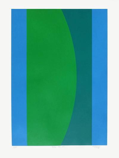 Couleur bleu vert-Jo Delahaut-Limited Edition